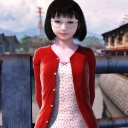 ヨシノモミヂ『公子』メガネ貧乳ロリがキモデブや爺と絡み合う背徳エロスなエロ動画
