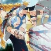 【百合・レズ】高貴なる戦乙女をふたなり陵辱調教し、ザーメンタンクに堕とす!