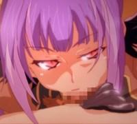 【ランス01】盗賊のエロいお姉さんに宝と引き換えにフェラチオ奉仕してもらった♪ (アニメエロタレスト)