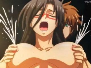 【新妹魔王の契約者 DEPARTURES】新作OVAで千里先生が母乳噴出アクメさせられるwww