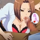 ヤンキーっぽい女上司に徹夜明けの臭っさいオ〇ンポを性処理フェラされて…!