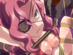 女海賊「おまえらの租チンになんか絶対屈しない!」→数秒後アナルを掘られて悶絶アクメwww