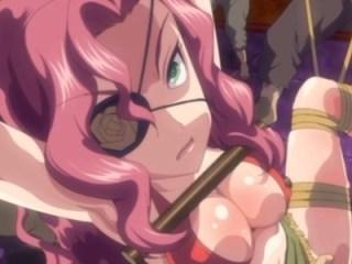 強気な女海賊「お前の腐れチ〇ポなんかでなんか絶対屈しない!」→アナル犯されあっさり絶頂www