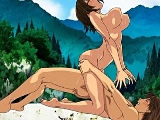 【青姦・露出】川遊びの後は、誰もいない田舎ならではの大自然セックス!