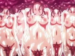 【異種姦】肉壺の体内で捕食され、種付けされ続ける女の子たち!