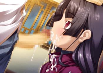 【恋姫†無双】従順な黒髪少女に初めてのフェラチオ奉仕でザーメンごっくんさせる!