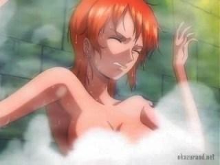 一般アニメのエロシーン!揺れまくる巨乳おっぱいを揉みまくる!!