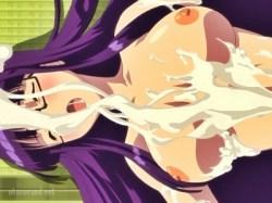 【ふたなり・レズ】巨根ふたなり娘の尽きる事ない溢れる精力で大量どろどろザーメンまみれにされました…。
