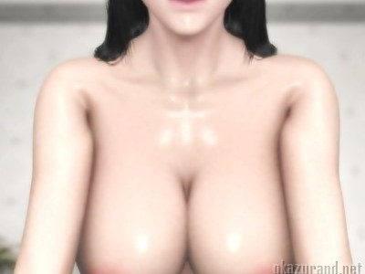 ムッチムチの巨乳ナースがその豊満な身体を使って精液採取のお手伝い♪(梅麻呂3D)