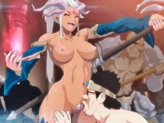 【時間停止】褐色女魔王が異世界召喚されたキモデブ勇者に時間停止公開レイプされる!