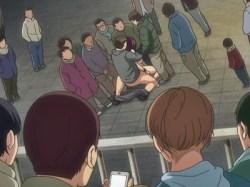 公園で美少女が公開セックス!?男たちが集まって来てお祭り状態にwww