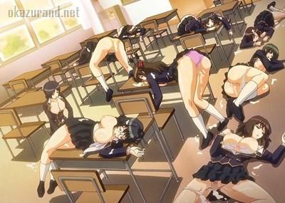 【時間停止】女子校に潜入したヘンタイが時間停止能力で道行く学生をレイプしまくる事件が発生!