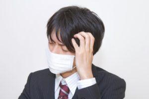 マスクの男性の画像