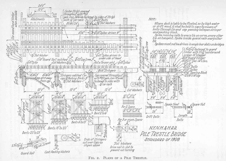 famous truss balsa wood bridge blueprints