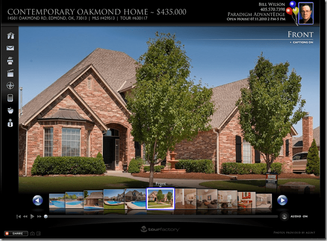 real estate property marketing plan to sell your Oklahoma City home - virtual tour