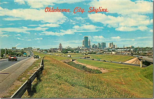 Oklahoma City Skyline - 1972