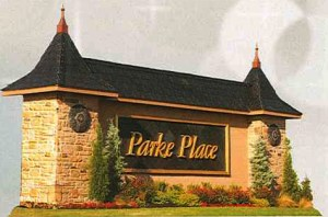 Parke Place Entry
