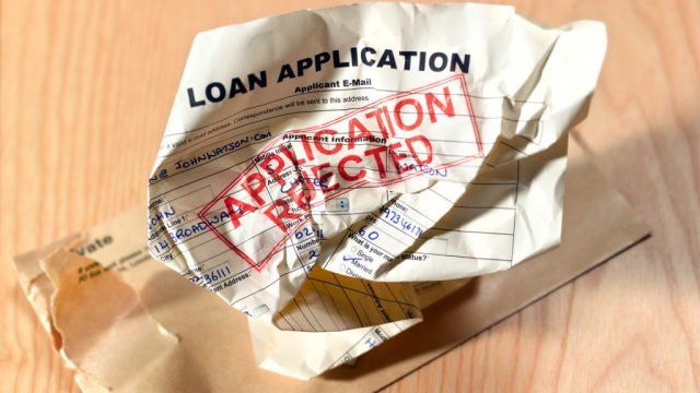 mortgage rejection