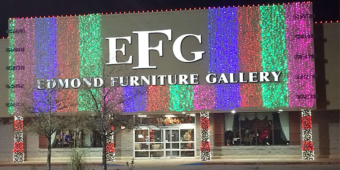 EFG Furniture Gallery- Christmas Lights by Forrester