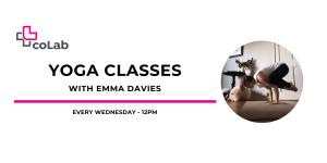 coLab Yoga Class @ Affinity Hall + Online | Kelowna | British Columbia | Canada
