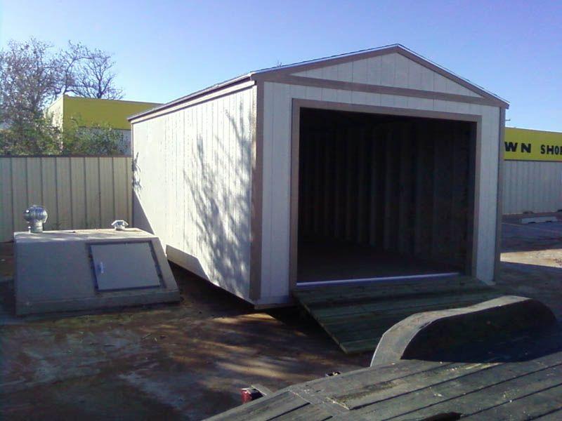 Custom Built Garage Buildings Oklahoma