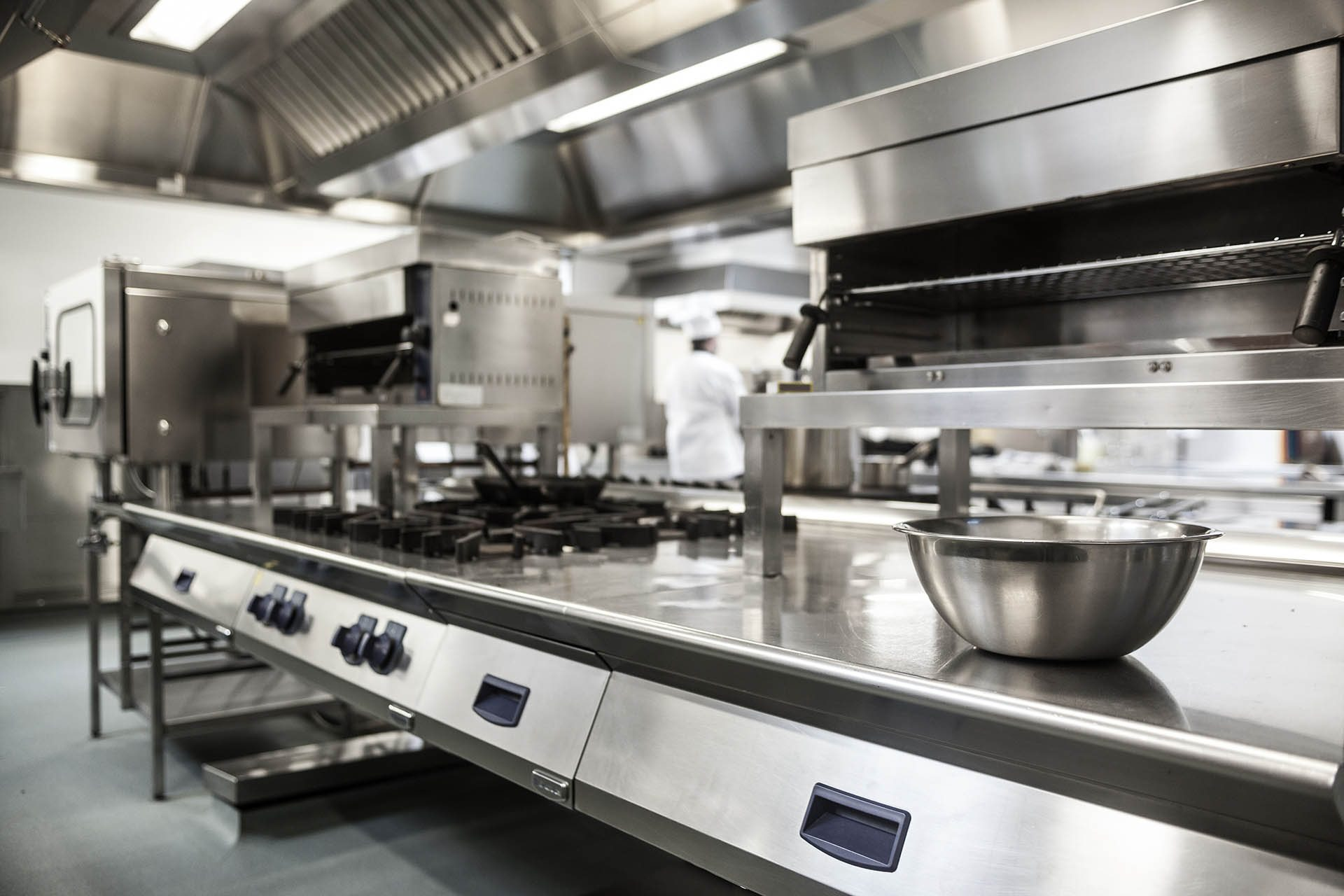 professional kitchen appliances hanging lighting fixtures for restaurant equipment repair oklahoma city okc work surface and in