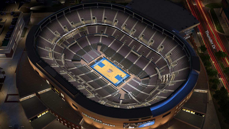 Ny Knicks Wallpaper Hd Oklahoma City Thunder Virtual Venue By Iomedia
