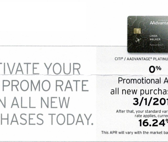 Targeted Citi Spending Offers Get 0 Apr On All Purchases