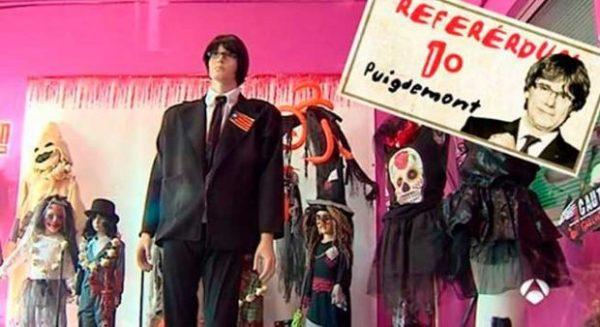 Lanzan un disfraz de Puigdemont y la ANC anima a ponérselo para arropar la investidura telemática