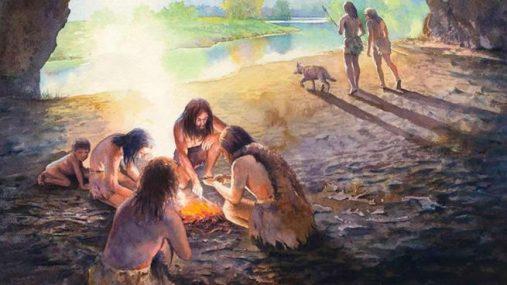 Resultado de imagen de neandertales fuego