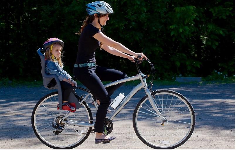 Consejos para comprar una silla portabebs para bicicleta