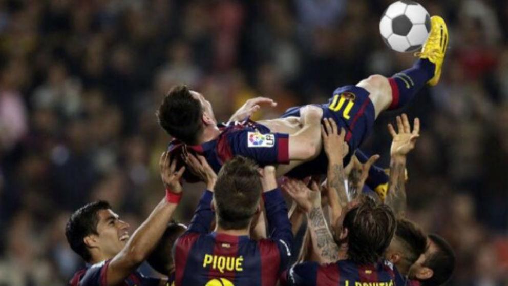 Los memes animan a Messi a copiar la chilena de