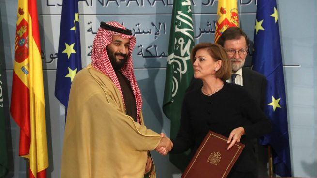 Mhamed bin Salman firma un acuerdo con Defensa clave para