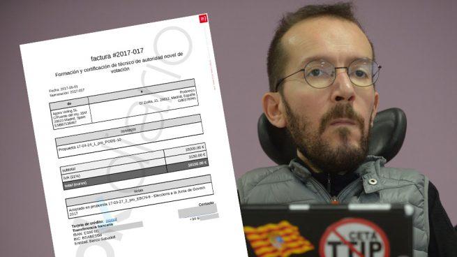 El referéndum del casoplón lo controla Echenique sin supervisión de auditores externos a Podemos
