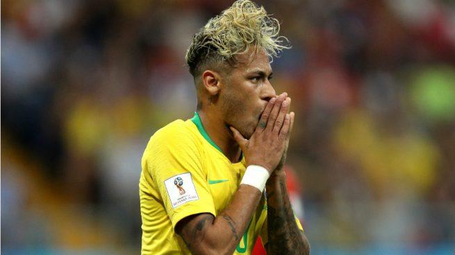 Mundial 2018 Brasil Se Ceba Con Neymar Fue Un Autntico