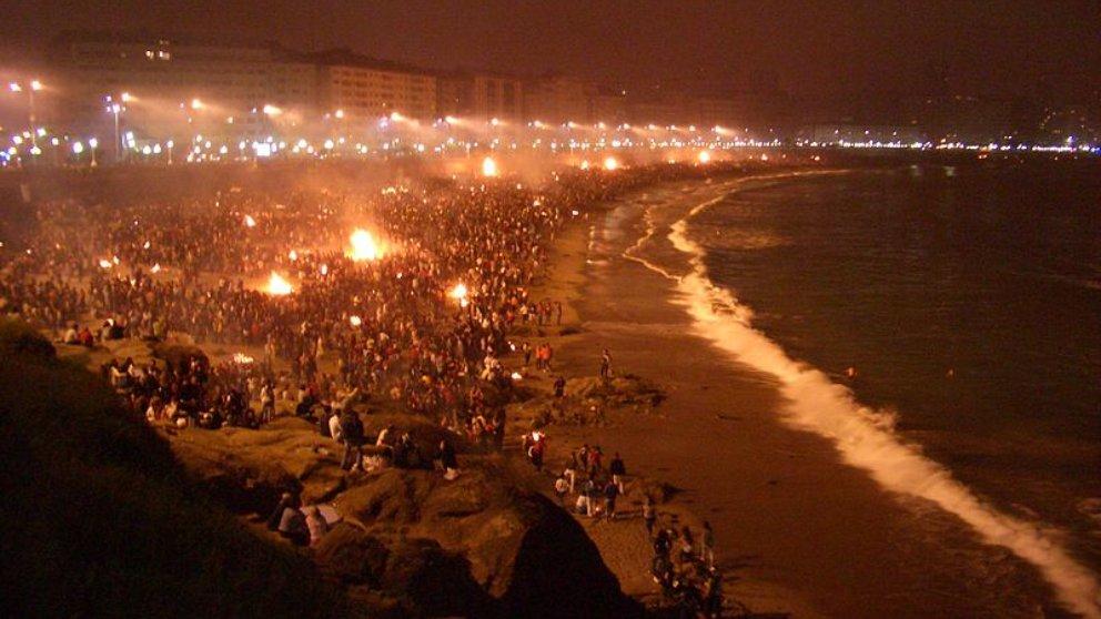Las mejores playas de Espaa para vivir la noche de San