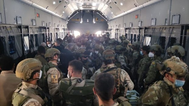 españa evacuacion afganistan