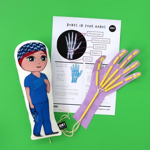 Bones in the Hand