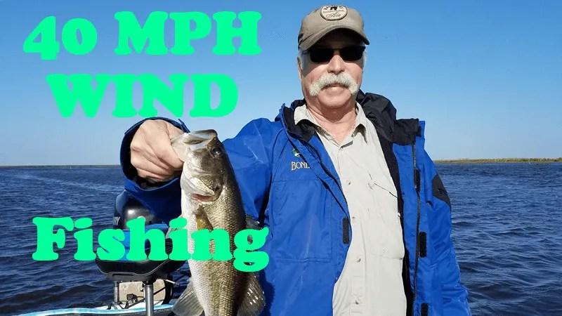 Strong Winds Seize Lake Okeechobee-Largemouth Bass Fishing