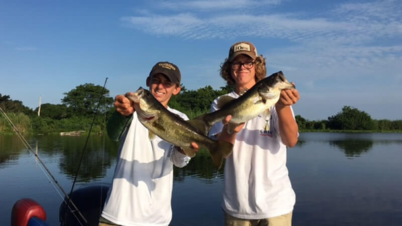 Slims Fish Camp Bass Fishing Trip