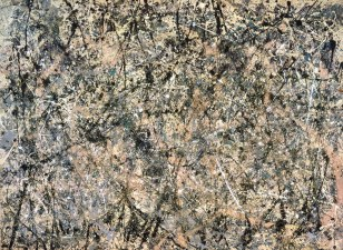 Jackson Pollock, Number 1 (Lavender Mist), 1950