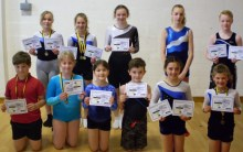 Okehampton Gym, Trampoline and DMT Club Totnes medal winners