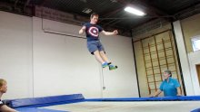 Kiah trampolining SNAP photo website