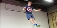 Kiah trampolining - SNAP