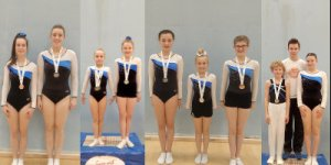 Flyers medal winners, SW Regionals, Bath, 2020
