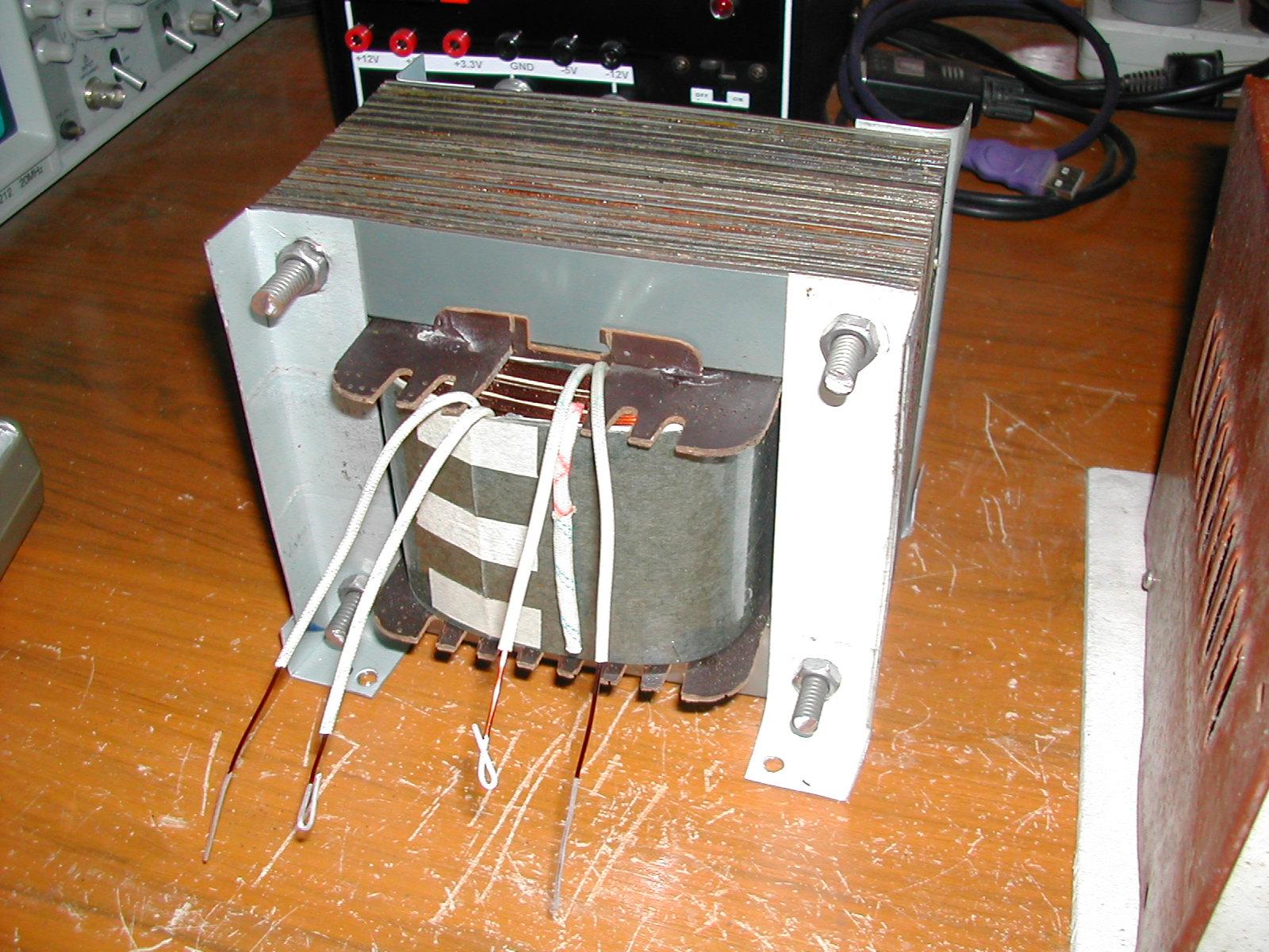hight resolution of diy isolation transformer 1