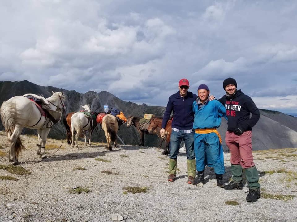 native speaker w górach