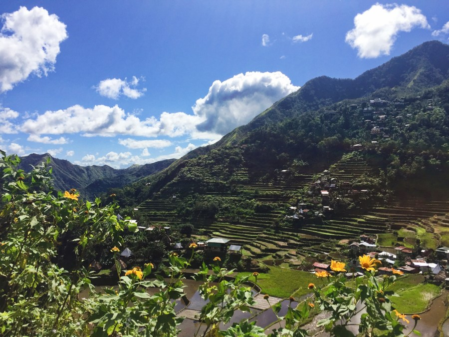 View from the far side of Batad Valley.