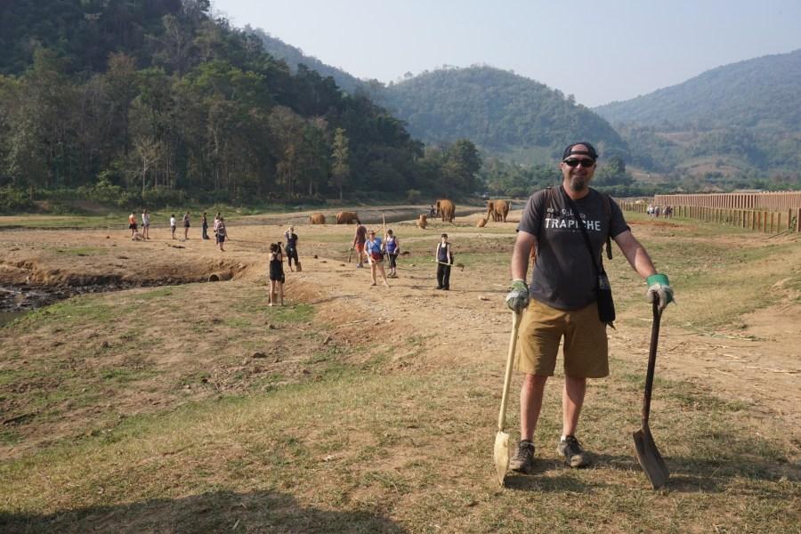 volunteering, Elephant Nature Park, Thailand, responsible tourism