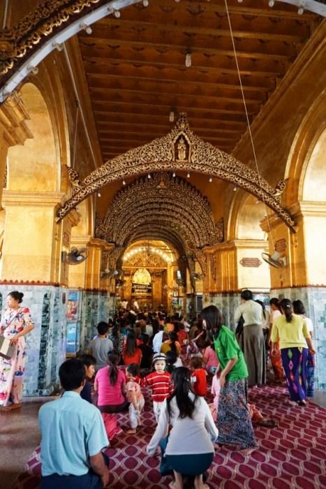 temple, Mandalay, Myanmar, pilgrimage site